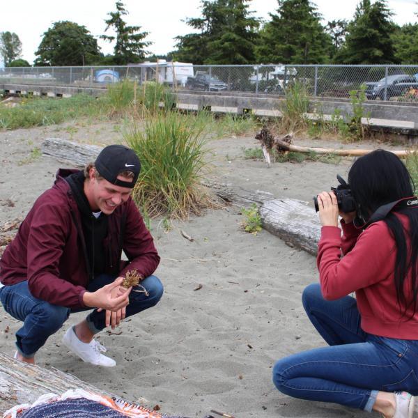 RAs at the beach