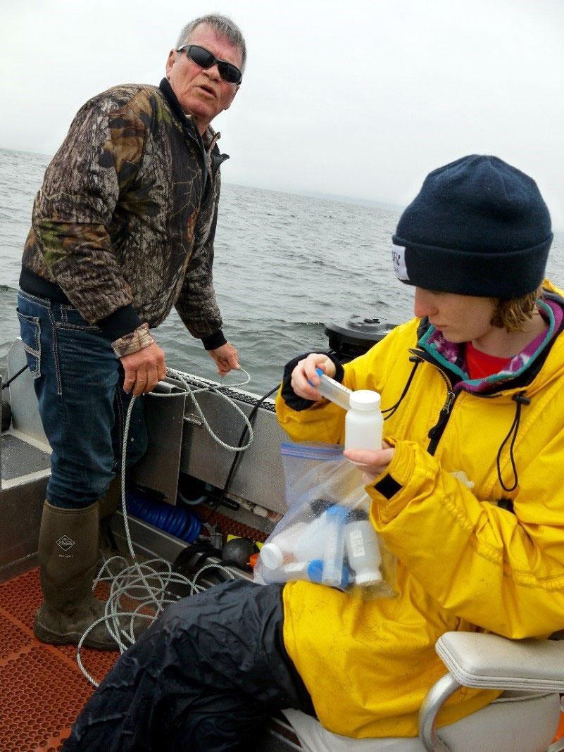 Salish Sea Sampling.