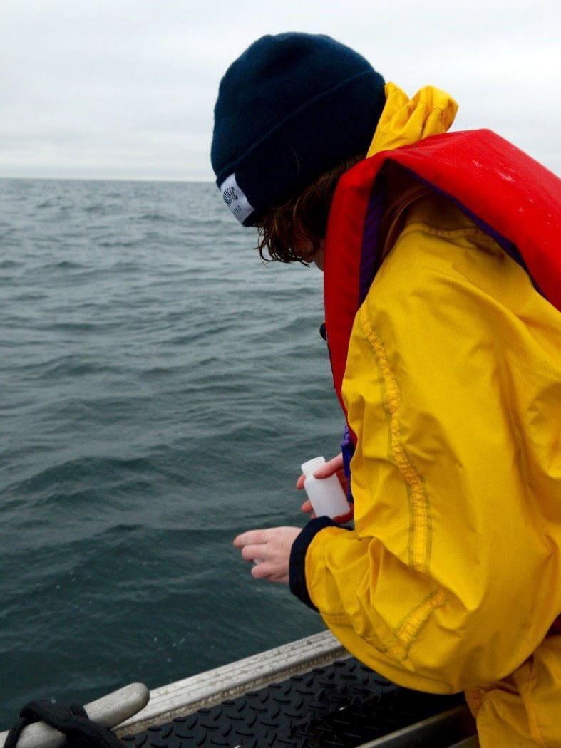 Kidston Salish Sea Sampling.