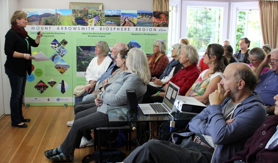 """Exploring Mount Arrowsmith Biosphere Region"" VIU ElderCollege Course"