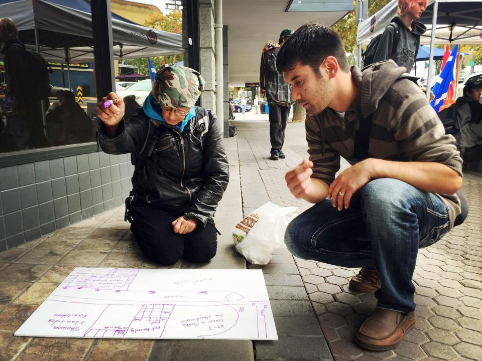 VIU Master Community Planning (MCP) Students revisioning Nanaimo's downtown