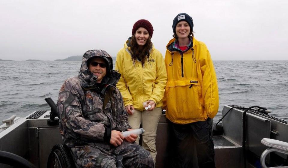 Bull Kelp Sample Collection and Marine Monitoring in the Salish Sea 2
