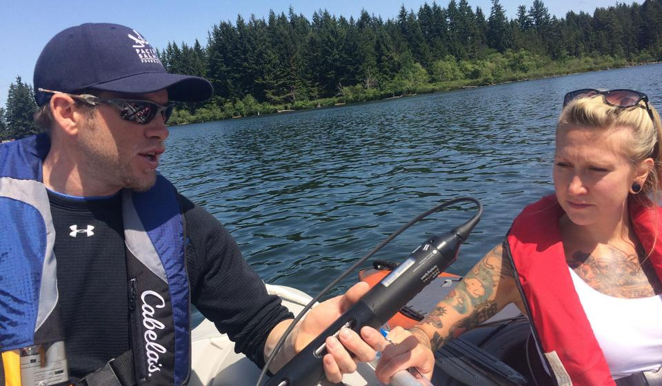 Lake Monitoring in the Little Qualicum Water Region