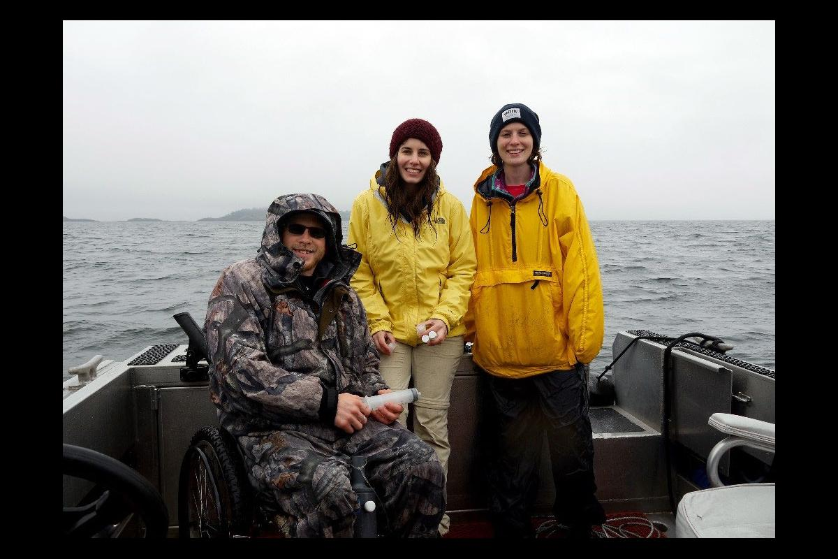 Ryan, Larissa and Kidston.